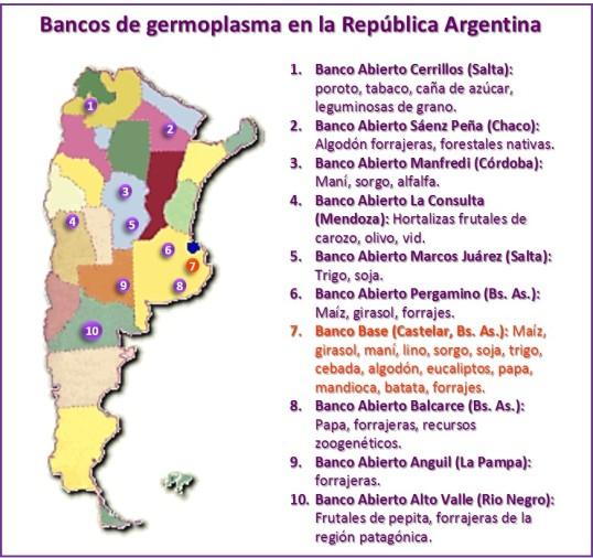 Bancos de semilla en argentina